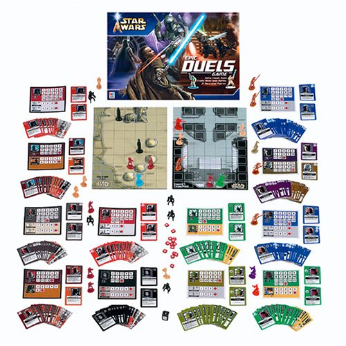 Star Wars Epic Duels Game by Milton Bradley