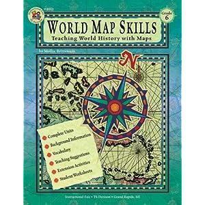 World Map Skills, Grade 6