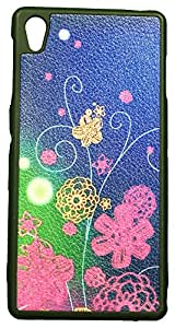 Zeztee ZT8831 Multicolor print Mobile Back Cover For Sony Xperia Z3
