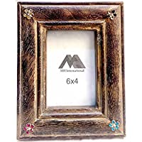 MH Craft Wooden Brown Photo Frame (Photo Size - 15x10 Cm, 1 Photos) …