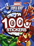 1000 stickers Marvel Super Heroes
