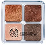 The Body Shop Shimmer Cubes Palette 14g (6 Chocolate/Honeycomb)