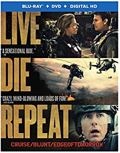 Live Die Repeat: Edge of Tomorrow (Blu-ray + DVD + Digital HD UltraViolet Combo Pack) from Warner Home Video