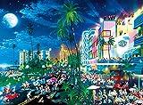 Buffalo Games Alexander Chen: South Beach Moonlight Jigsaw Bigjigs Puzzle (1000 Piece)