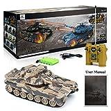 GizmoVine-RC-Panzer-Russland-T90-128-Mastab-Ferngesteuertes-Kampfpanzer-Spielzeug-Tank-fr-Kinder-Jungs-27Mhz-Tarnung