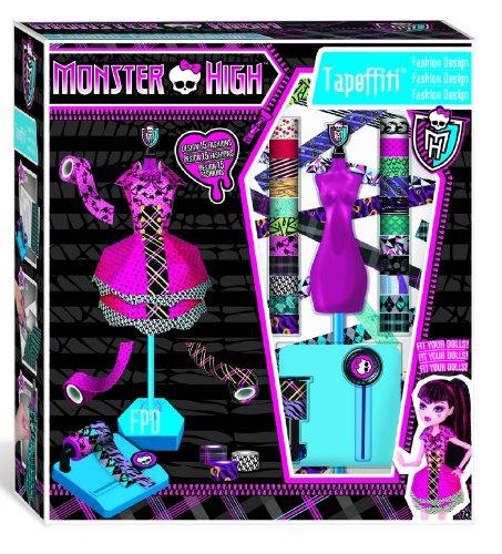 kleider f r monster high puppen aus klebeband bastelfrau. Black Bedroom Furniture Sets. Home Design Ideas