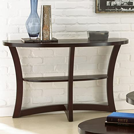 Steve Silver Alice Sofa Table - Espresso