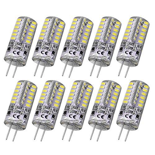 Rayhoo 10pcs G4 Base 24 LED Light B…