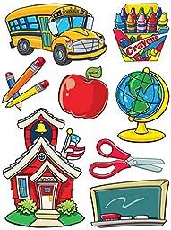 Eureka Classroom Supplies, More School Supplies Clings (846021)