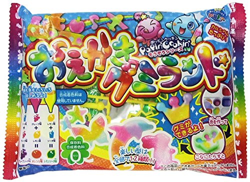 Kracie Popin' Cookin' DIY candy kit gummy animals (Japanese Gummy Making Kit compare prices)