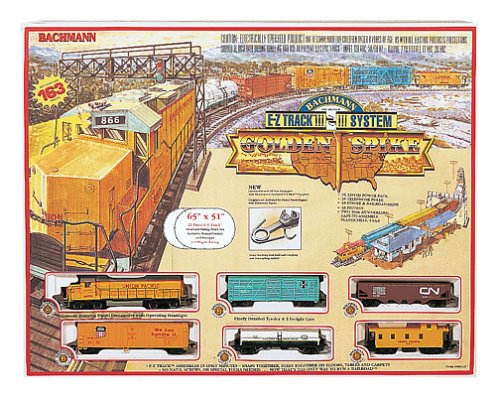 Bachmann Trains Golden Spike Ready-To-Run Ho Scale Train Set