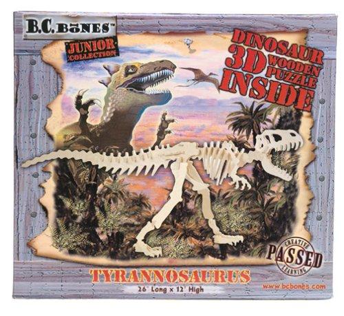 Cheap B.C. Bones 3D Wood JR Tyrannosaurus Puzzle (B00006654U)