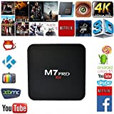 Mifanstech M7 PRO 4K Android 5.1 Amlogic S905 Quad Core Smart Tv Box with Kodi Pre-installed Full Loaded 1G RAM 8G ROM Wifi Google Youtube Streaming Media Player