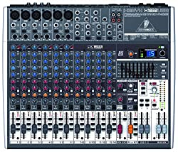 Behringer XENYX X1832USB Premium 18-Input 3/2-Bus Mixer with XENYX Mic Preamps & Compressors from Behringer