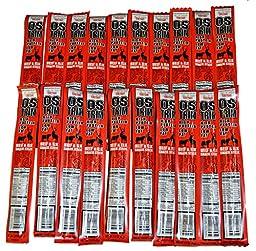 Ostrim Beef & Elk Snack Stick Teriyaki Pack of 20