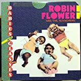 ROBIN FLOWER & THE BLEACHERS babies with glasses LP Mint- FF-428 Vinyl 1986