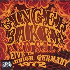Click here to buy Ginger Baker and Salt - Live in Munich 1972 by Ginger Baker.