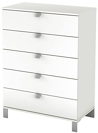 South Shore Spark Collection 5-Drawer Chest, Pure White