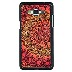 Jugaaduu Red DayDream Pattern Back Cover Case For Samsung Galaxy Grand Prime G530H