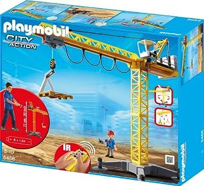 PLAYMOBIL 5466 - Großer Baukran mit IR-Fernsteuerung