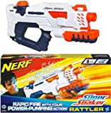 Toy - NERF SUPER SOAKER Rattler Single, Wasserpistole NEU/OVP