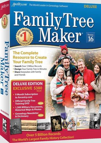 Family Tree Maker Version 16 Deluxe