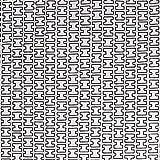 artek(アルテック) カットクロス 約75×50cm H55 ホワイト×グレー
