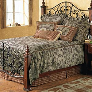 Pinecone Moss Bed Set - King - CLEARANCE