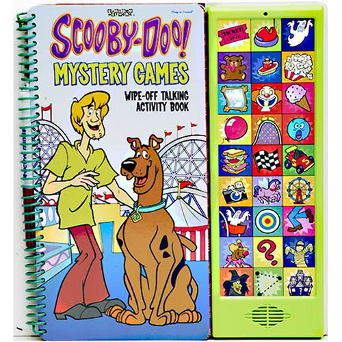 Scooby Doo Mystery Games Book