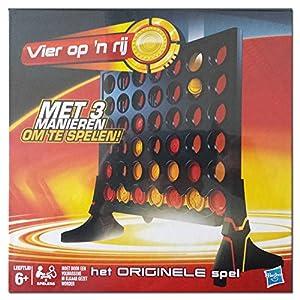 Original Hasbro C4 Connect 4 Gewinnt Das Chip-Duell Vier op n rij Strategiespiel f. 2 Spieler