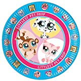 Hasbro 23cm Littlest Pet Shop Dinner Plates