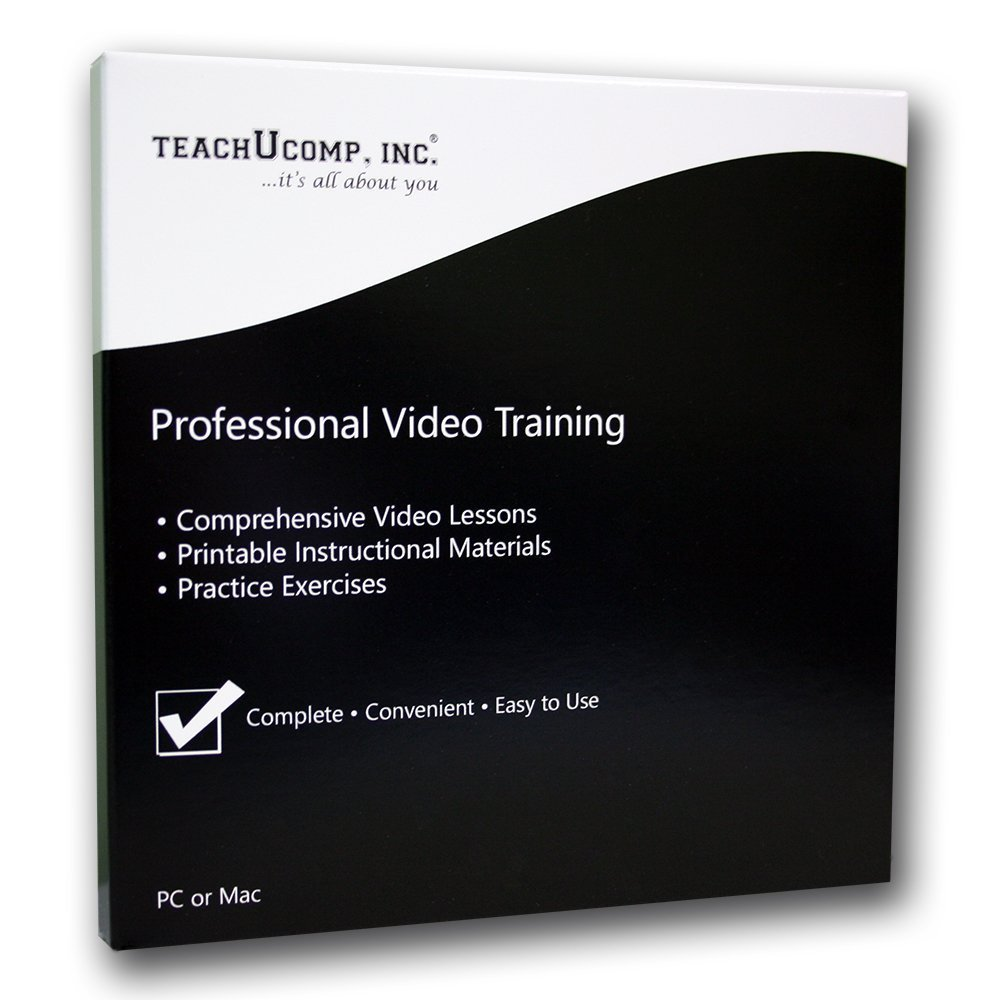 Learn Microsoft Excel 2016 Made Easy Video Training Tutorial DVD-ROM Course