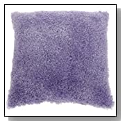 Soft Purple Poodle Pillow by Brentwood