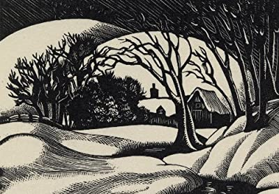 Snow scene Clare Leighton (1898-1989)