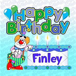 happy birthday finley   personalised party cd by various