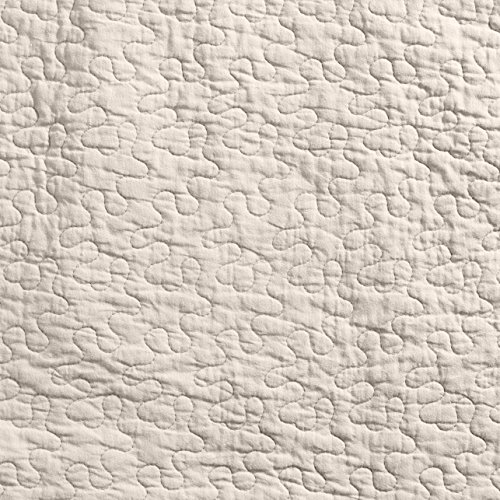 Linder 0581 /29/835/180 Castille - Juego de colcha y funda de almohada (algodón, 240 x 180 cm), color crudo