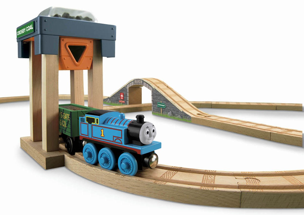 thomas wooden train set
