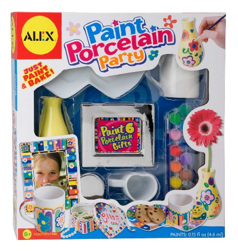 ALEX Toys Craft Paint Porcelain Party (Make Your Own Tea Set compare prices)