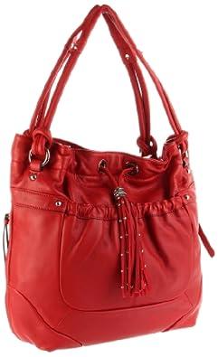 (时尚)4.6折 B. MAKOWSKY Celeste Tote女士皮包,仅售$137.10