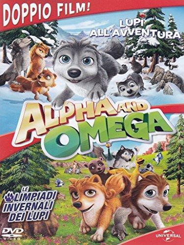 Alpha And Omega: Lupi All'Avventura e Le Olimpiadi Invernali dei Lupi (DVD)