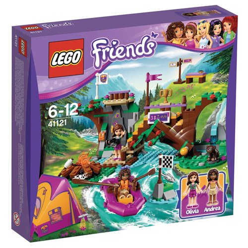 LEGO 41121 - Friends Rafting Al Campo Avventure