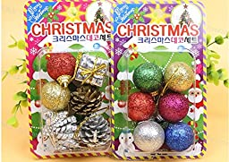 Christmas Decorations Accessories*6 sets
