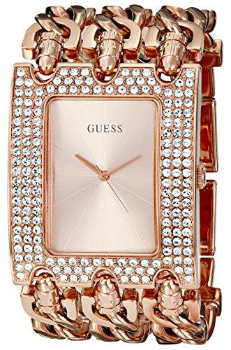 Guess U0085L3 - Reloj de pulsera mujer, acero inoxidable, color dorado