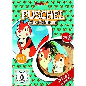 Puschel, das Eichhorn - DVD 1 & 2 [2 DVDs]