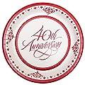 "40th Anniversary 10"" Plates"