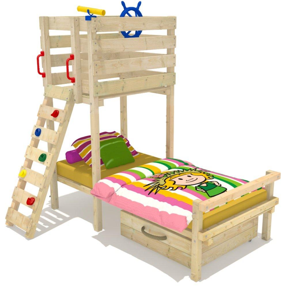 Wickey Kinderbett Abenteuerbett Spielbett Captain Flynt inkl. Lattenrost 90x200cm günstig