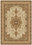 Home Dynamix Royalty 8083-100 Ivory 7-Feet 8-Inch by 10-Feet 4-Inch Traditional Area Rug