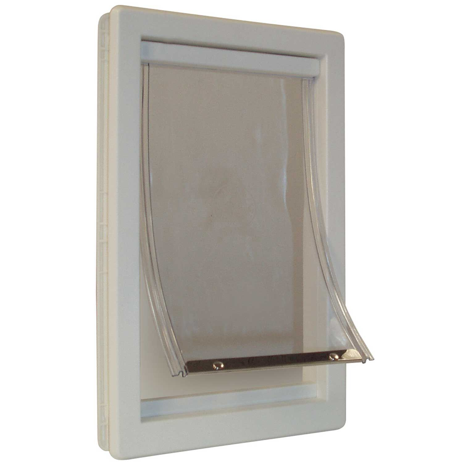 Durable pet door flap small dog cat safe soft telescoping for Dog door for garage door