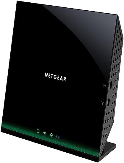 Netgear D6100-100PES Modem Routeur Noir