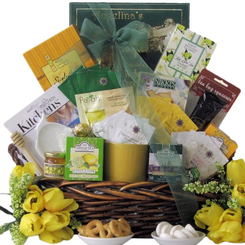Great Arrivals Gourmet Tea Gift Basket, Tea Treasures Extra Large